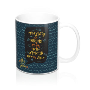 Everybody, even monsters... Percy Jackson Quote Mug - LitLifeCo.