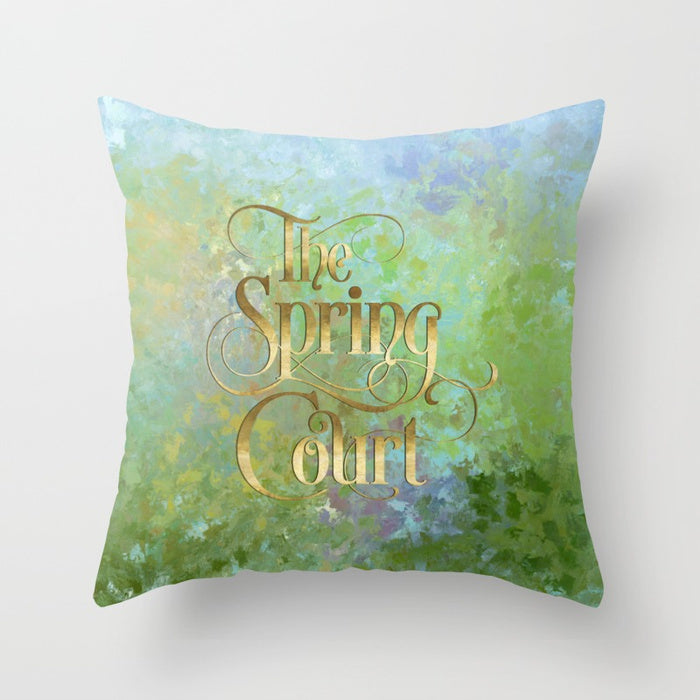 The Spring Court Pillow - LitLifeCo.