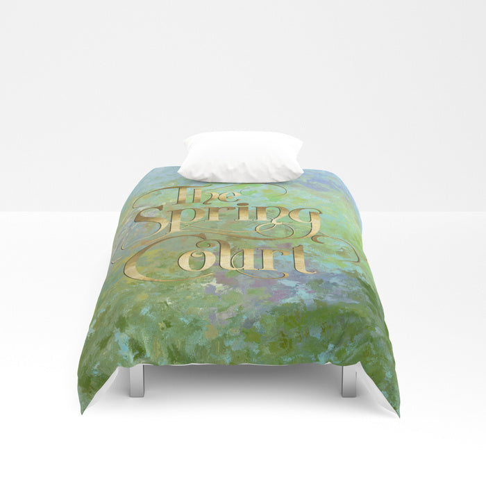 The Spring Court Duvet Cover