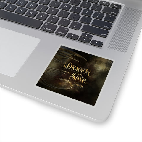 A dragon...Daenerys. Game of Thrones (A Song of Ice and Fire Series) Quote Sticker - LitLifeCo.