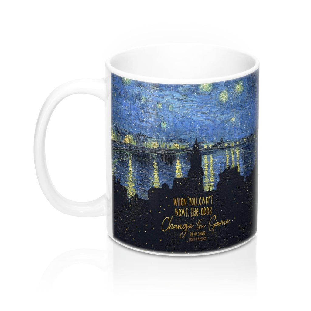 When you can't beat the odds... Six of Crows Quote Mug - LitLifeCo.