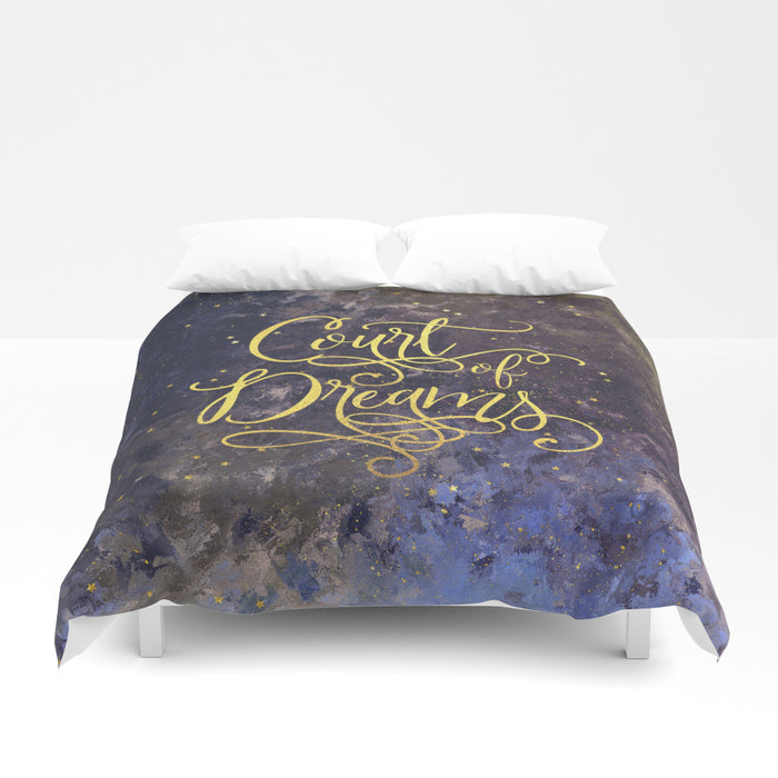 Court of Dreams. A Court of Wings and Ruin (ACOWAR) Duvet Cover