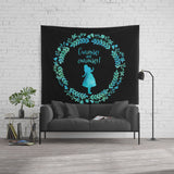 Curiouser and curiouser! Alice in Wonderland Wall Tapestry - LitLifeCo.