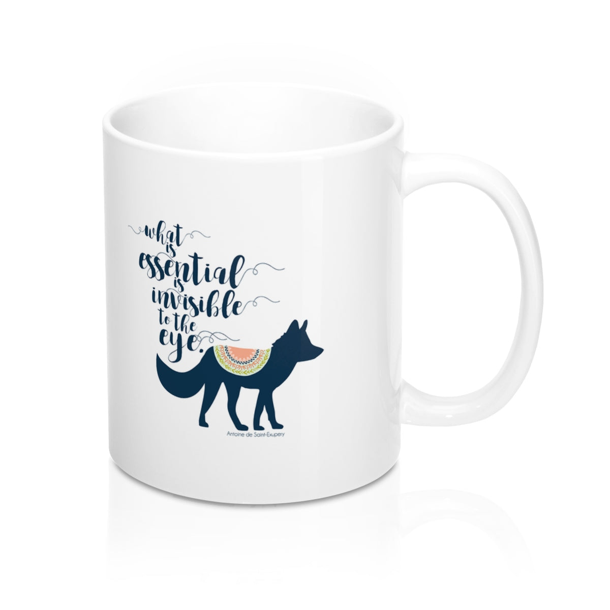 What is essential... The Little Prince Quote Mug - LitLifeCo.