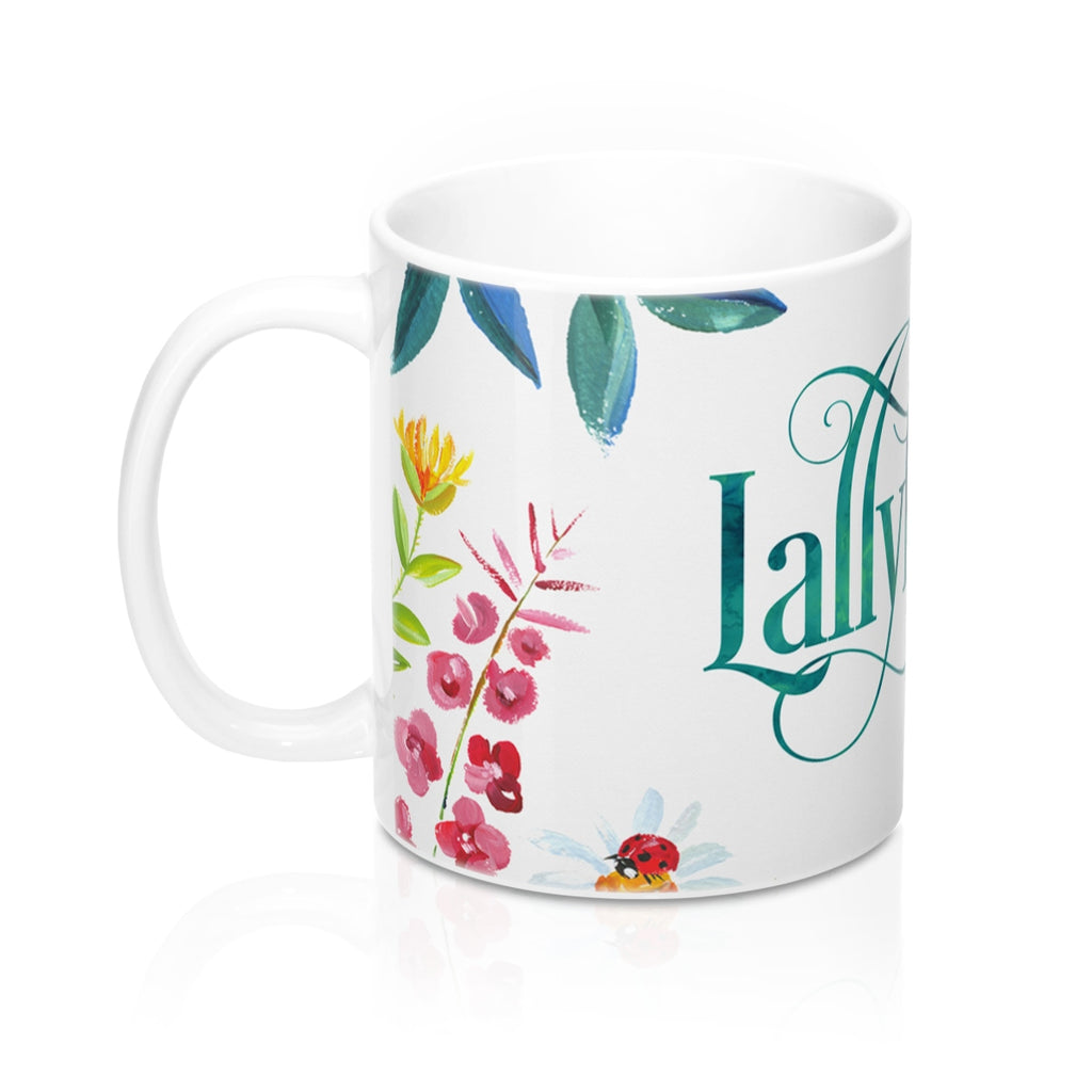 Lallybroch in Bloom Mug - LitLifeCo.