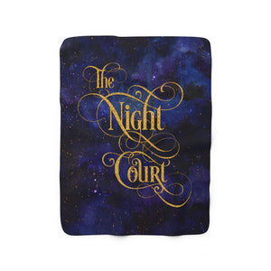 The Night Court Throw Blanket