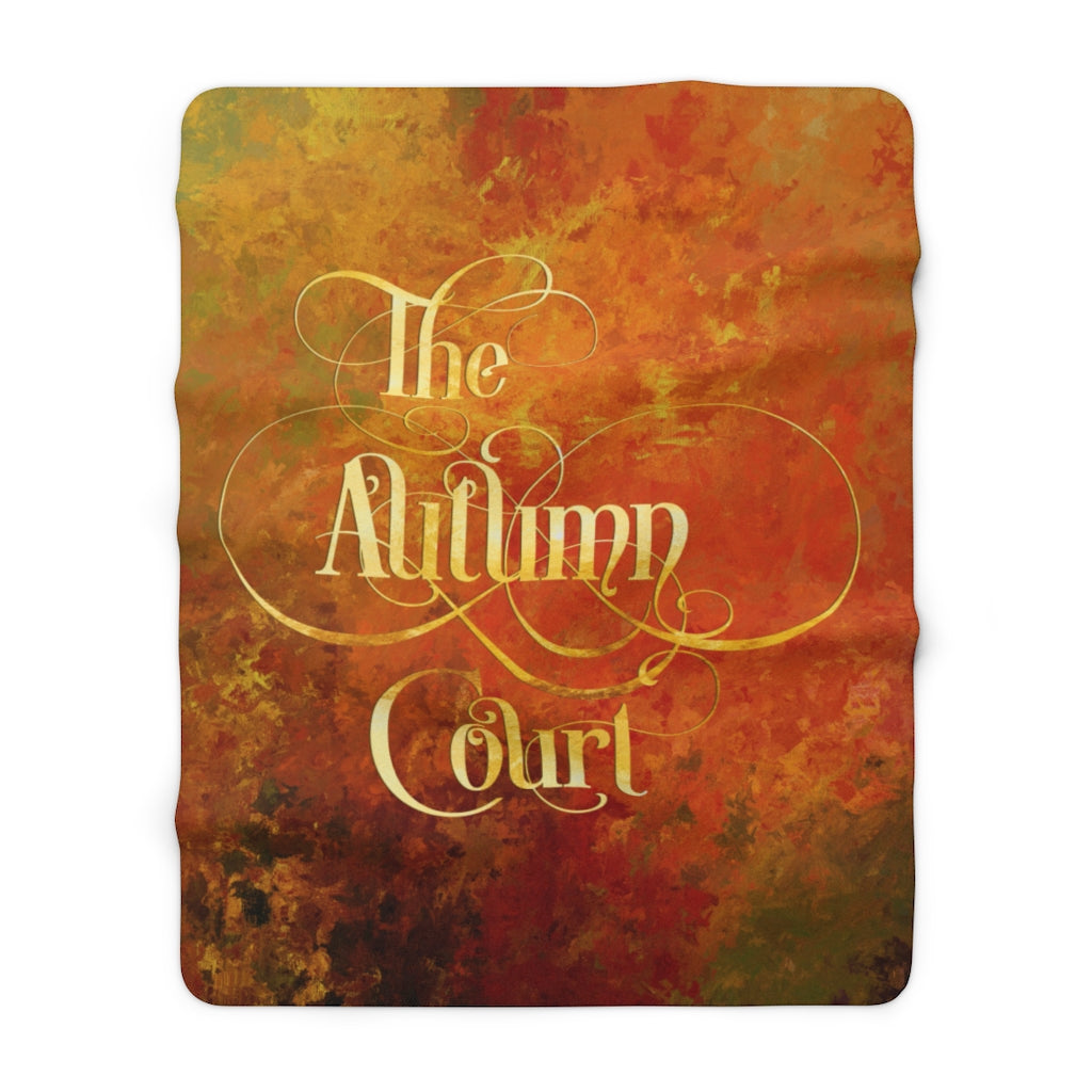 The Autumn Court Throw Blanket