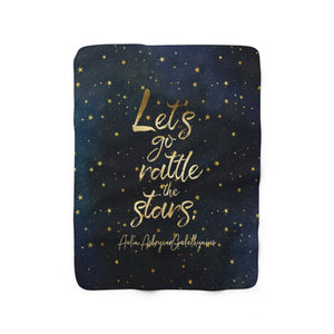 Let's go rattle the stars. Throne of Glass Throw Blanket