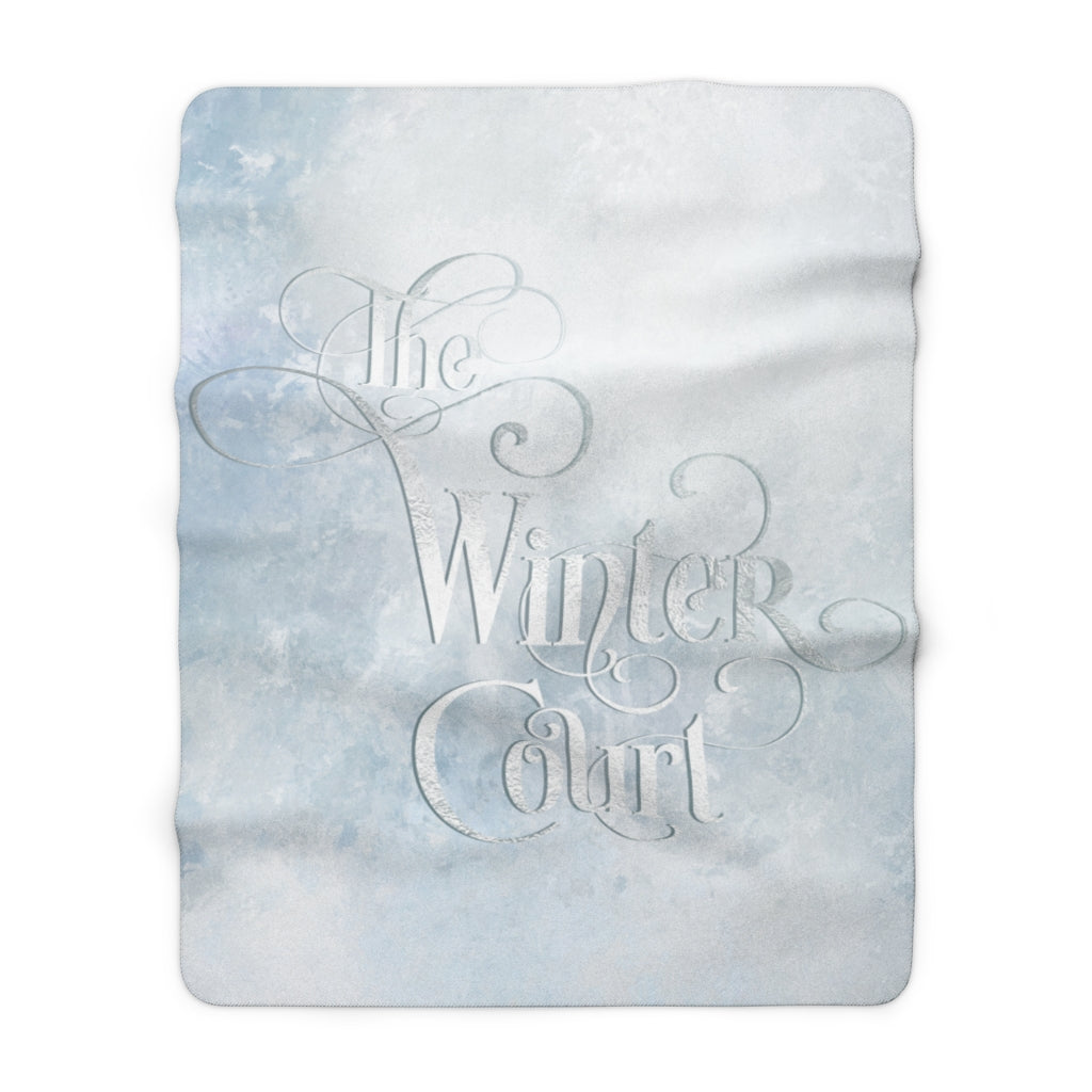 The Winter Court Throw Blanket