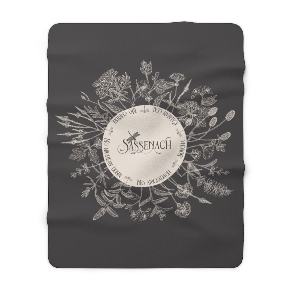 Dear SASSENACH Throw Blanket