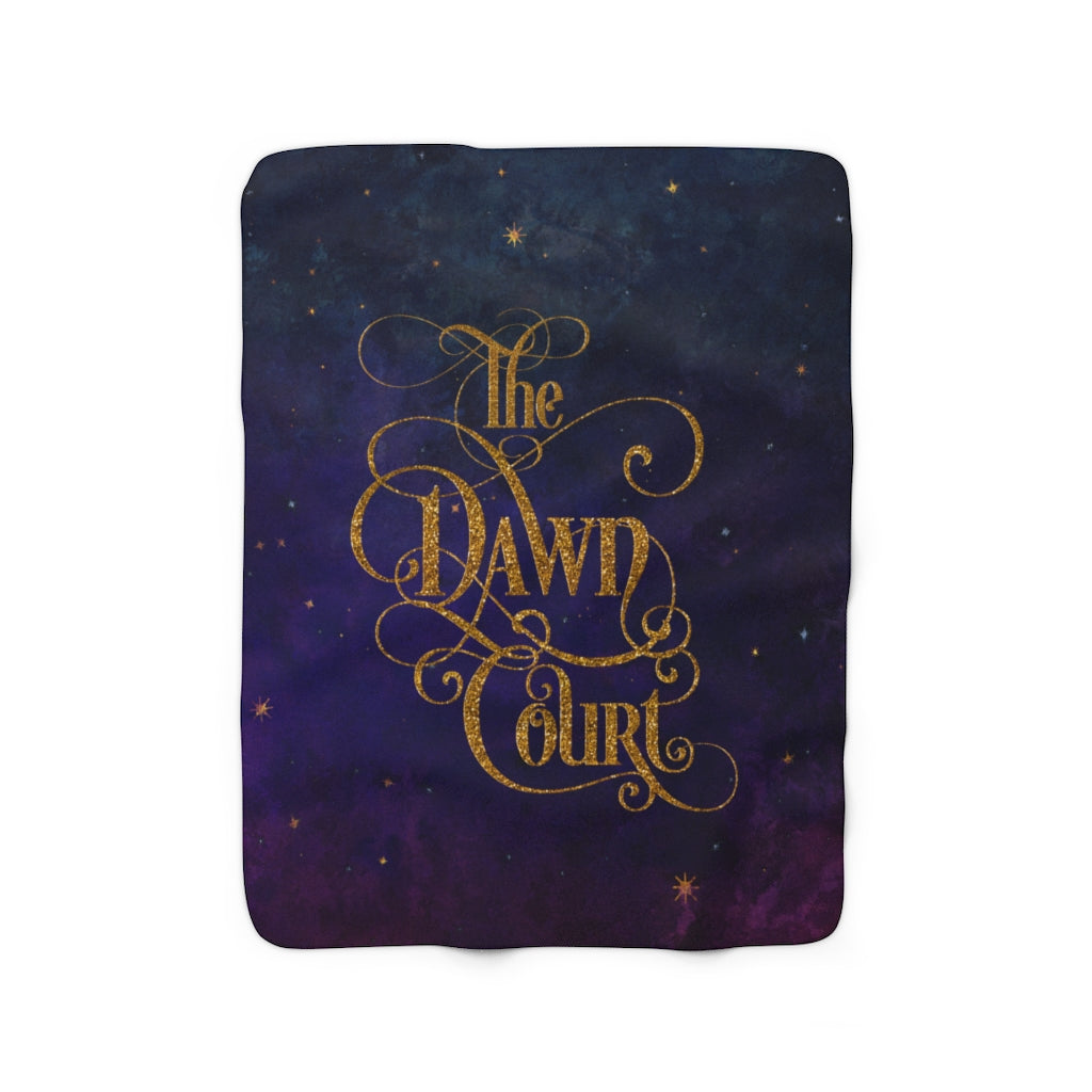 The Dawn Court Throw Blanket