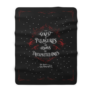 The finest of pleasures... The Night Circus Throw Blanket