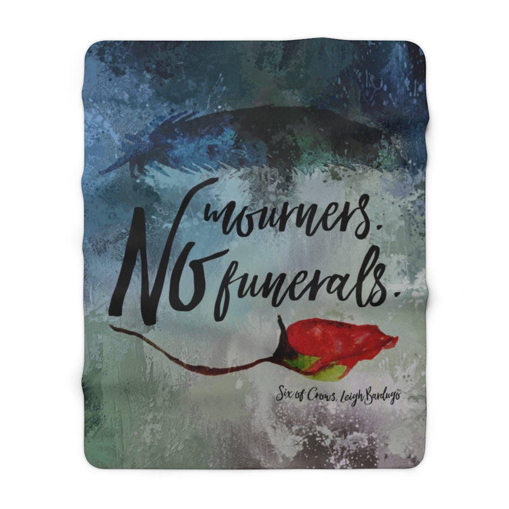 No mourners... Six of Crows Throw Blanket
