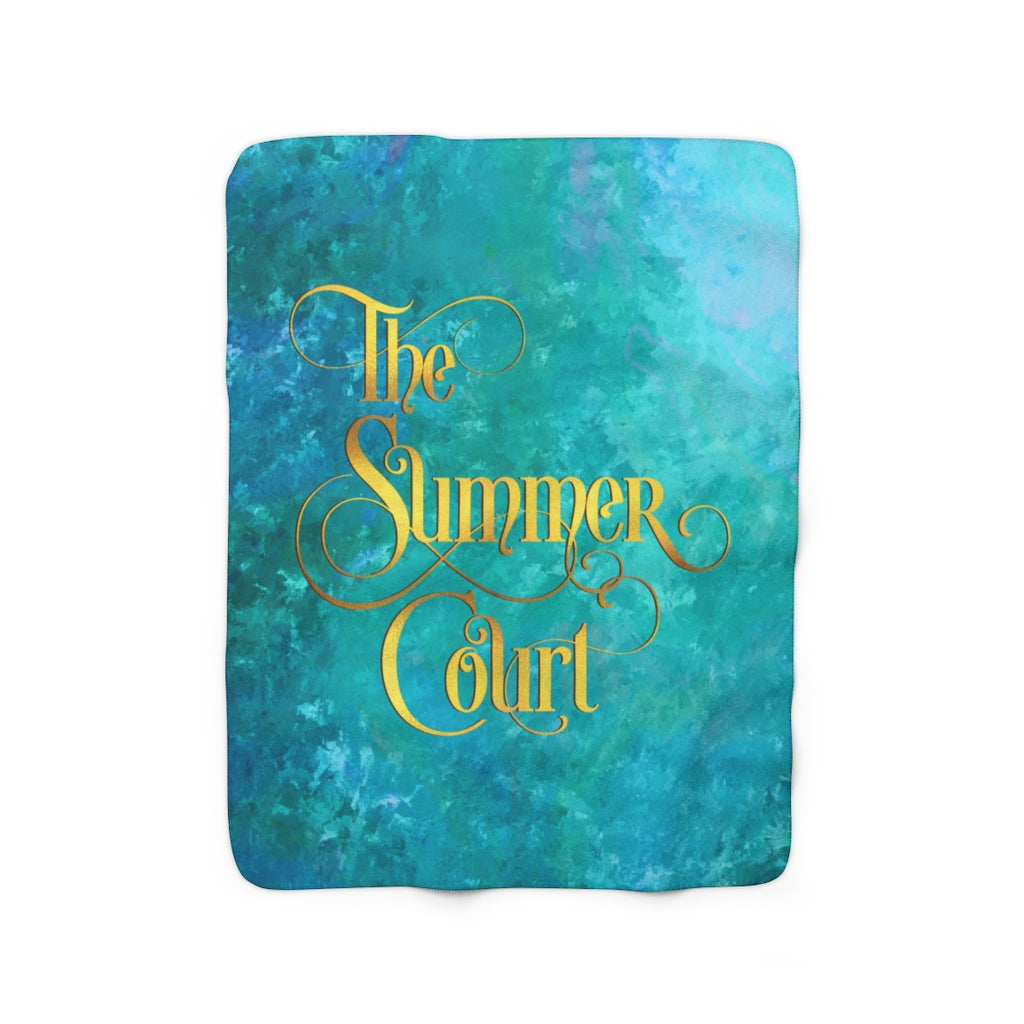The Summer Court Throw Blanket