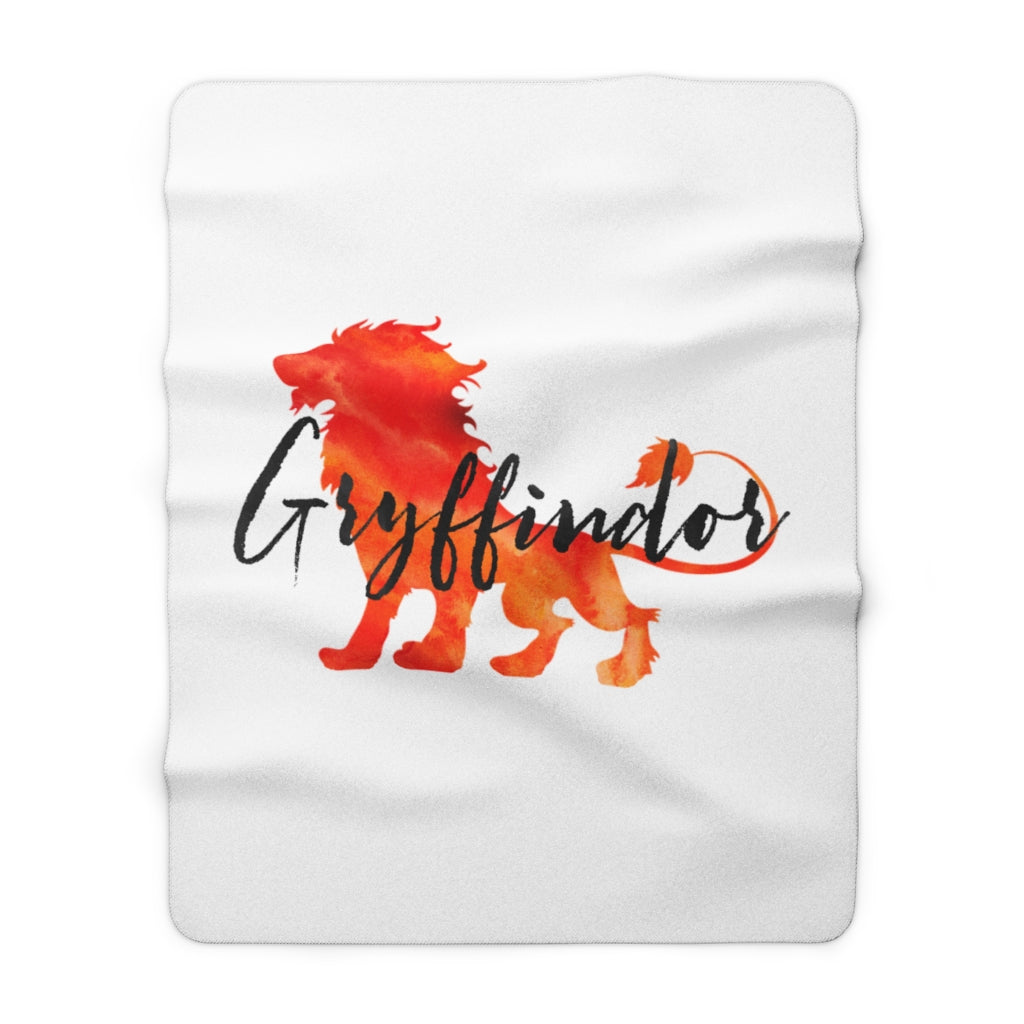 Gryffindor Hogwarts House Pride Throw Blanket