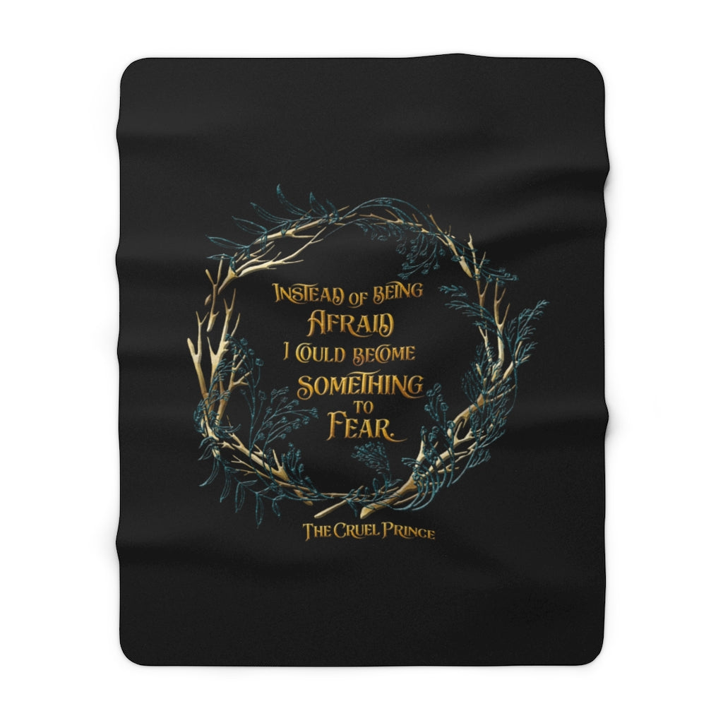 Instead of being afraid... Jude Duarte Throw Blanket
