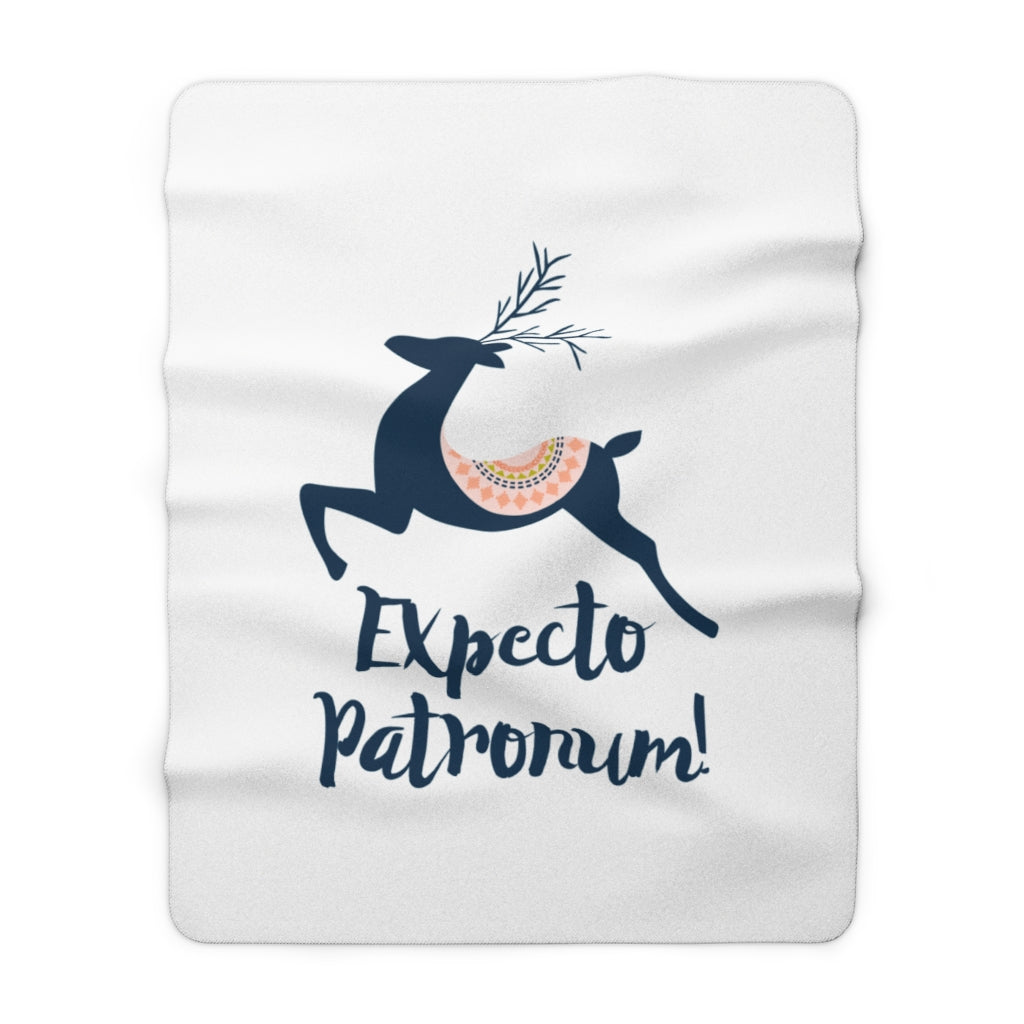 Expecto Patronum! Harry Potter Throw Blanket