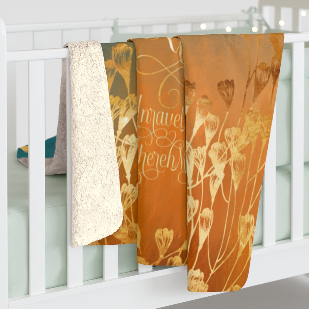 Time goes on... Unravel Me Throw Blanket