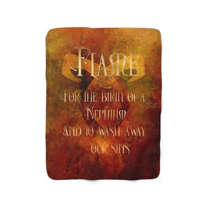 FLAME Shadowhunter Children's Rhyme Throw Blanket