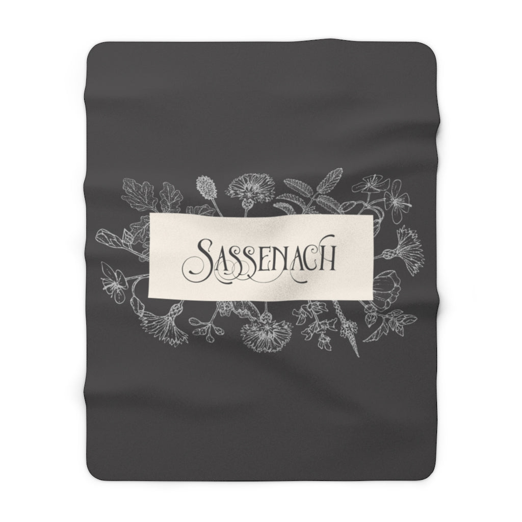 SASSENACH Throw Blanket