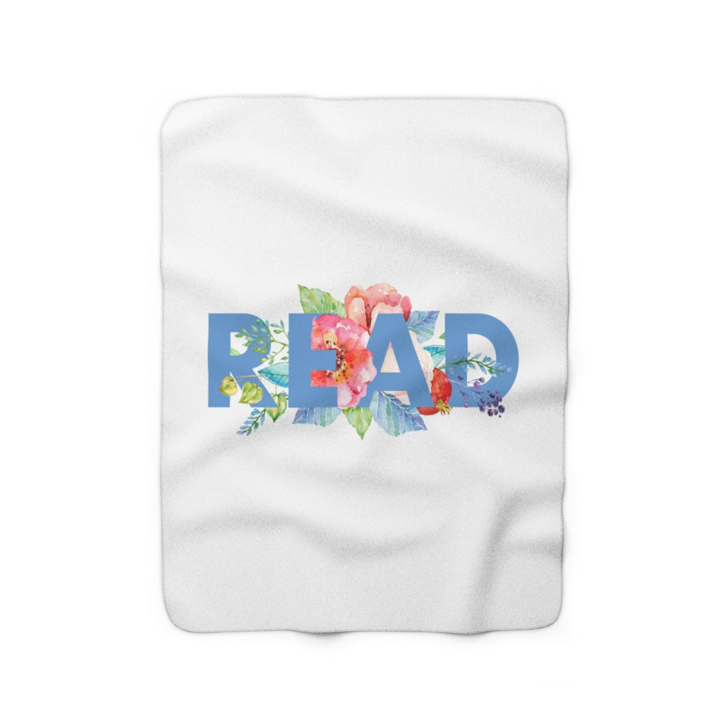 READ Floral Throw Blanket