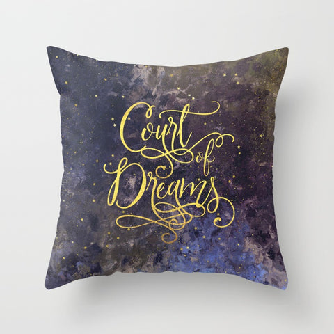 Court of Dreams. A Court of Wings and Ruin (ACOWAR) Pillow - LitLifeCo.