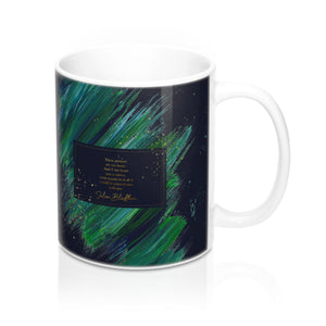 These pictures are my heart... Julian Blackthorn Quote Mug - LitLifeCo.