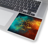 She is catalyst... Illuminae Quote Sticker - LitLifeCo.