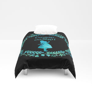 Curiouser and curiouser!  Alice in Wonderland Duvet Cover - LitLifeCo.