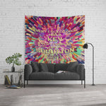 Every locked door... Warcross Quote Wall Tapestry - LitLifeCo.