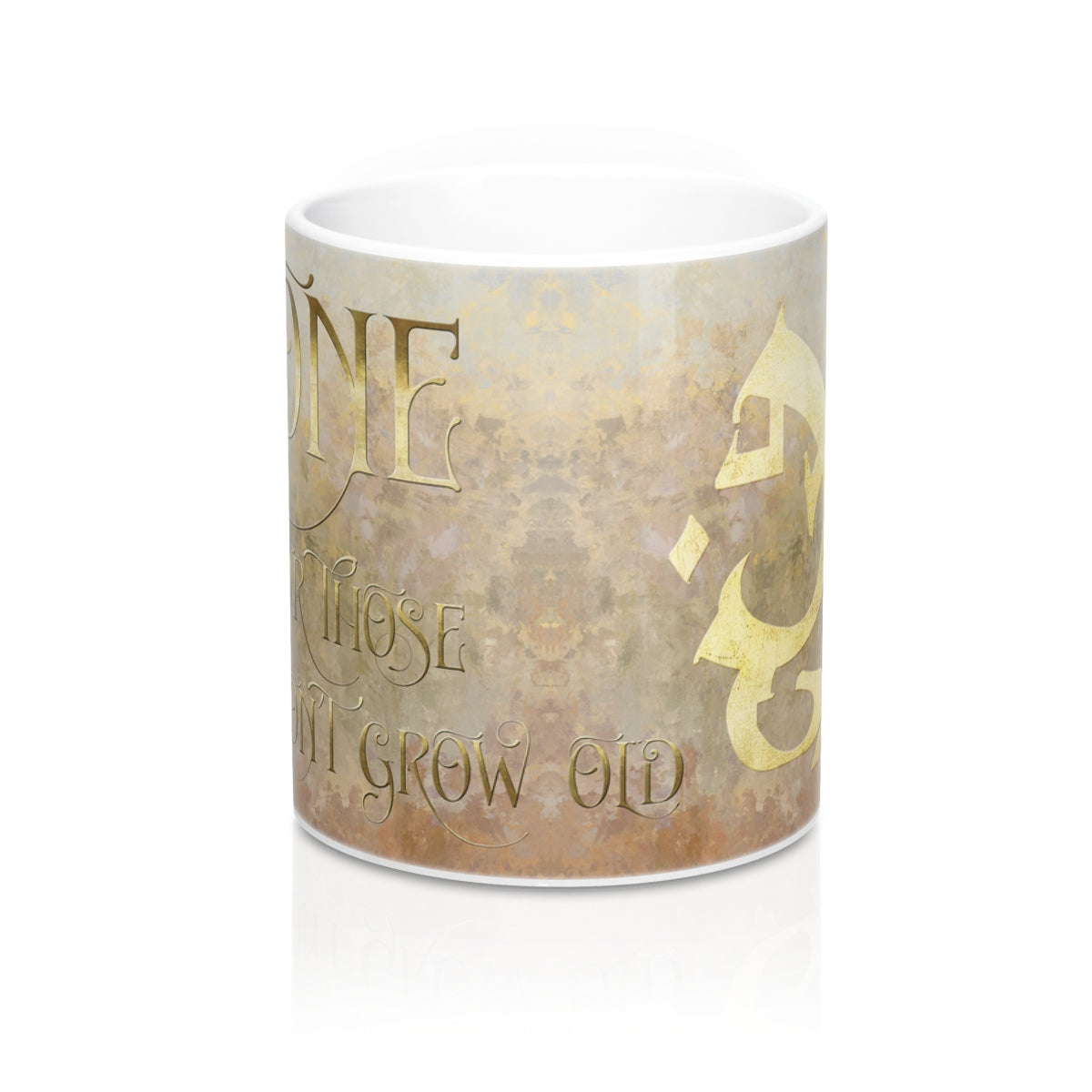 BONE for those who don't grow old. Shadowhunter Children's Rhyme Mug - LitLifeCo.