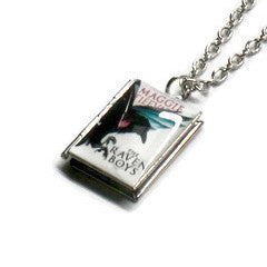 The Raven Cycle (The Raven Boys Series) Book Necklace - Literary Lifestyle Company