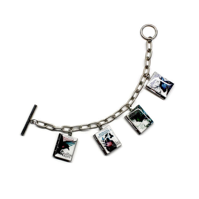 The Raven Cycle (The Raven Boys Series) Book Bracelet - LitLifeCo.