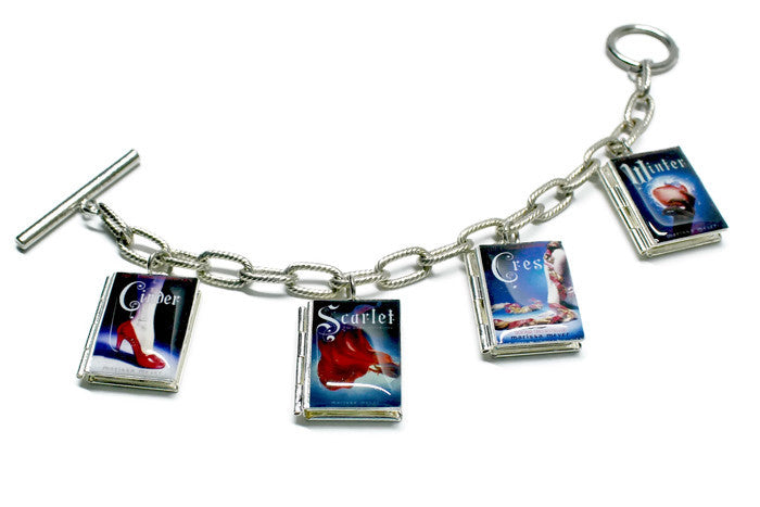 The Lunar Chronicles Book Bracelet - Literary Lifestyle Company