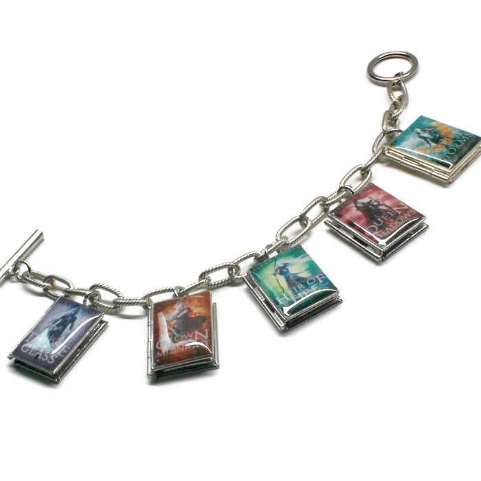 Throne of Glass Series Book Bracelet - Literary Lifestyle Company