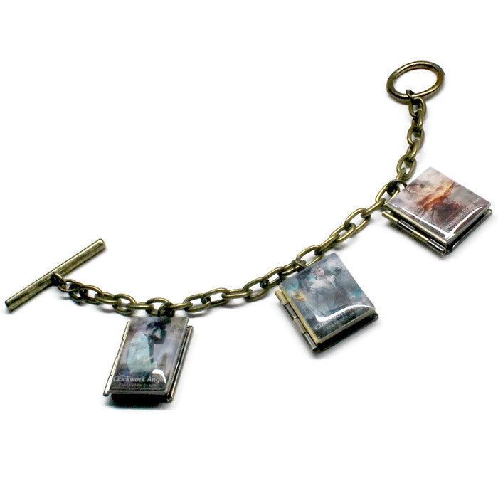 The Infernal Devices Trilogy Book Bracelet - LitLifeCo.