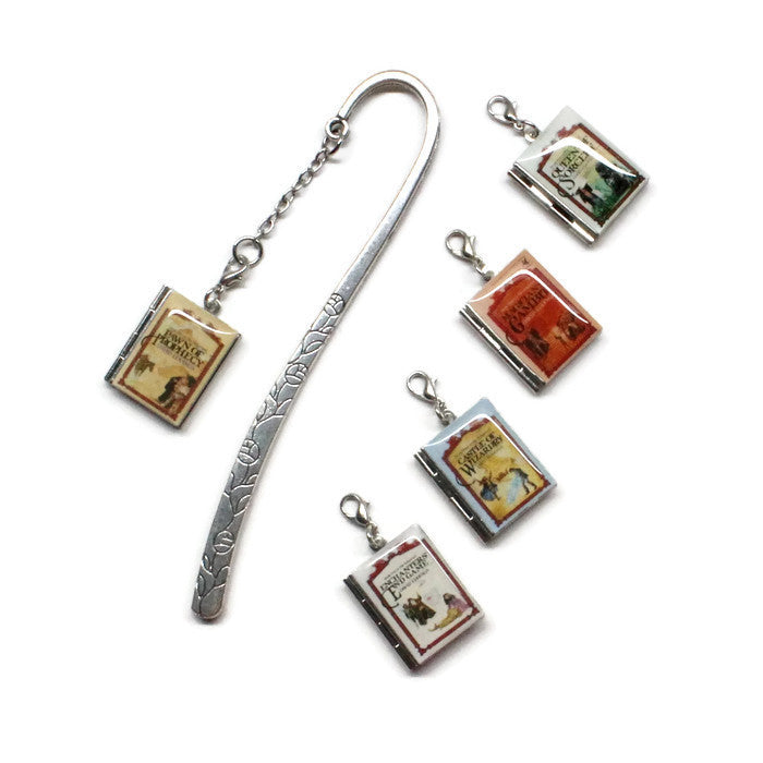 The Belgariad Series Interchangeable Book Locket Bookmark - LitLifeCo.