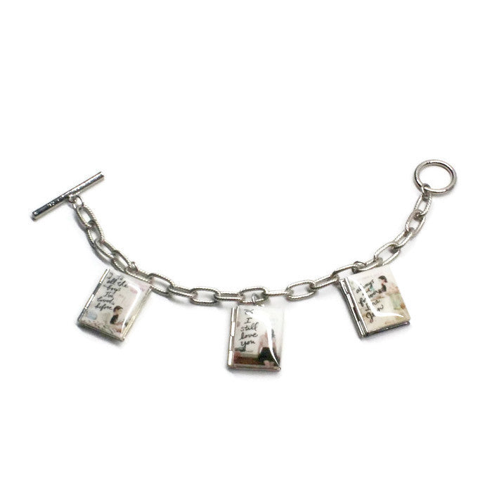 To All The Boys I've Loved Before Trilogy Book Bracelet - LitLifeCo.