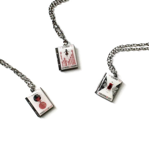A Darker Shade of Magic Series (ADSOM/AGOS/ACOL) Book Necklace - LitLifeCo.