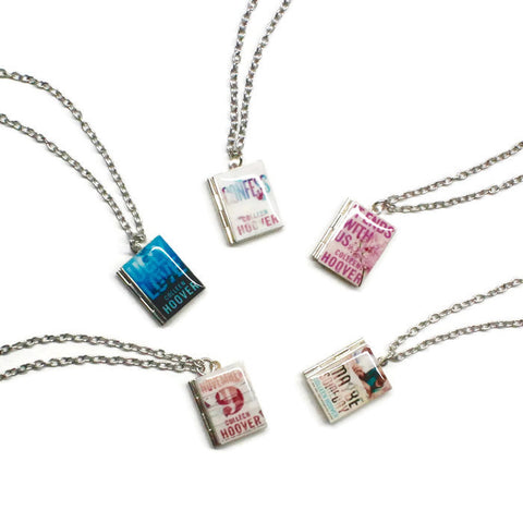Colleen Hoover Collection Book Necklace - LitLifeCo.