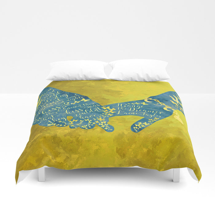 How had they survived... Strange the Dreamer Quote Duvet Cover - LitLifeCo.