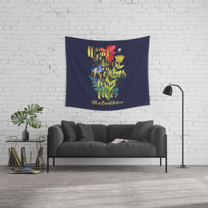 It does not do to dwell on dreams... Harry Potter Quote Wall Tapestry - LitLifeCo.