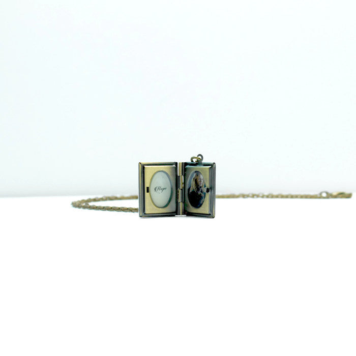 The Selection Series Book Necklace - LitLifeCo.