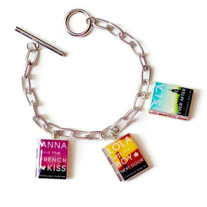 Stephanie Perkins Collection Book Bracelet - LitLifeCo.