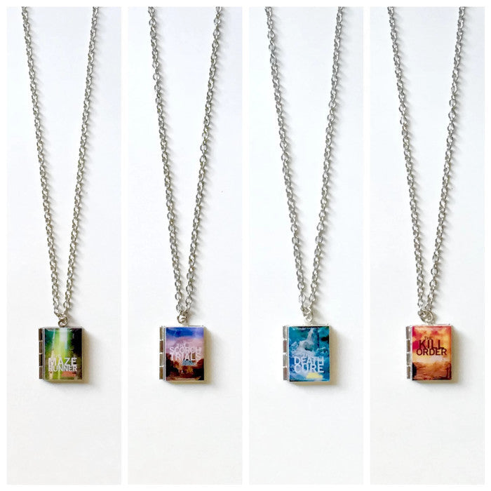 The Maze Runner Series Book Necklace - Literary Lifestyle Company