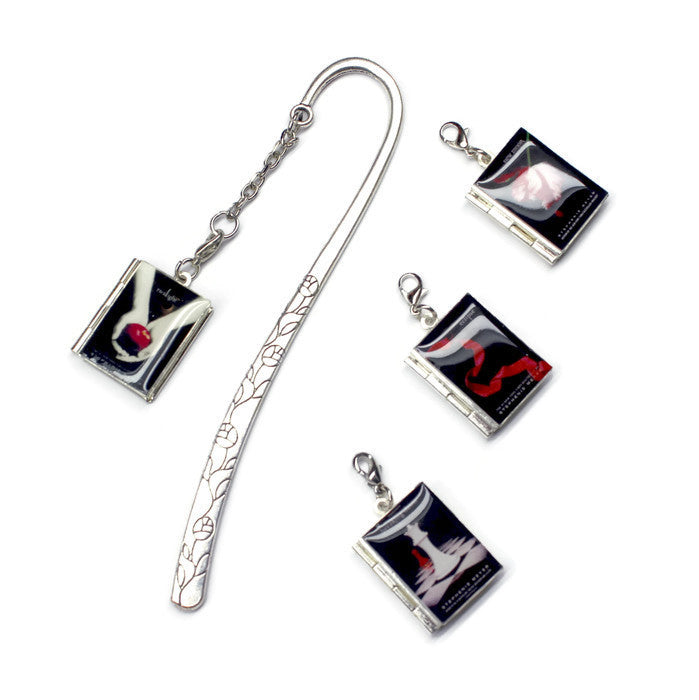 Twilight Saga Interchangeable Book Locket Bookmark - LitLifeCo.