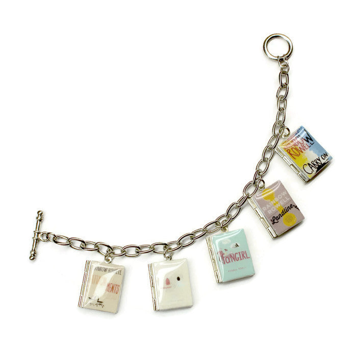 Rainbow Rowell Collection Book Bracelet - LitLifeCo.