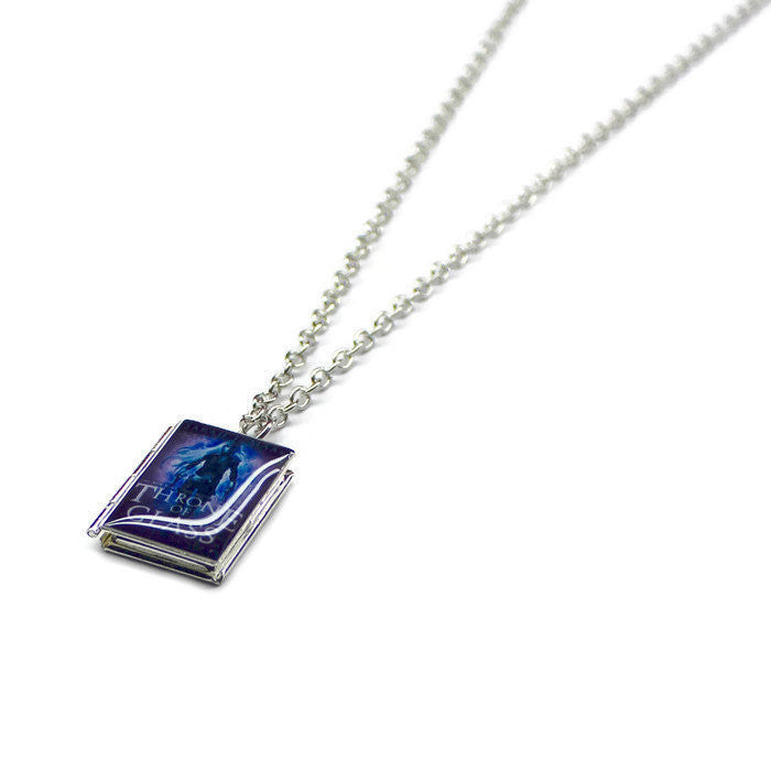 Throne of Glass Series Book Necklace - LitLifeCo.