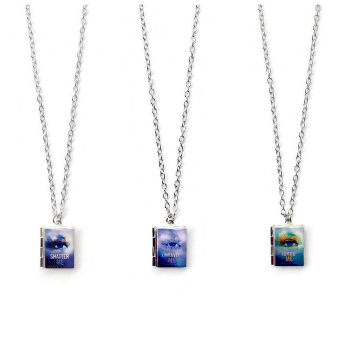The Juliette Chronicles Book Necklace - LitLifeCo.
