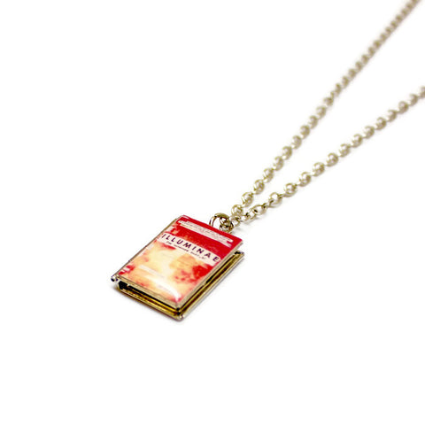 The Illuminae Files Book Necklace - LitLifeCo.